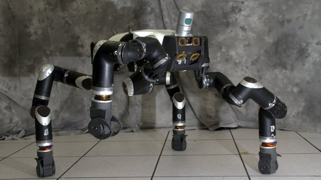 NASA designs ape-like robot for disasters