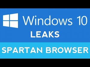 Microsoft Sparta web browser features leaked