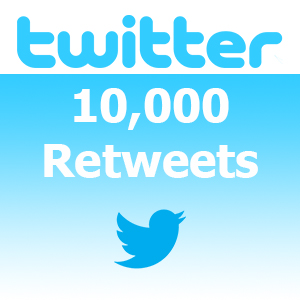 Buy 10,000 Real Twitter Retweet