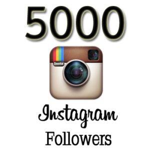 Buy 5000 Real Instagram followers
