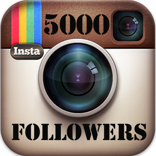Buy 5,000 Instagram followers in Nigeria for ₦8,000