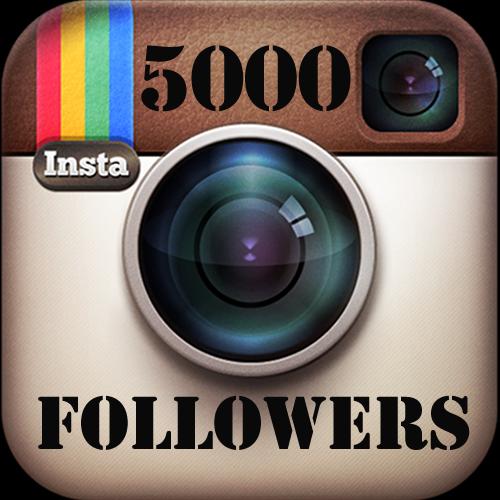 Buy 5,000 Instagram followers in Nigeria for ₦8,000