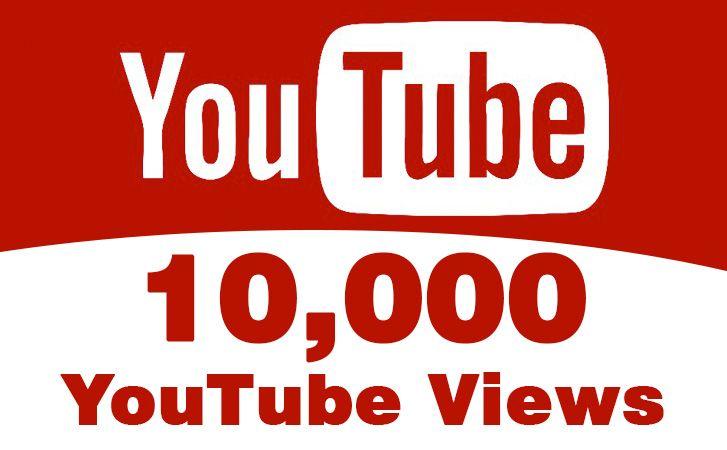 Buy Real 10,000 YouTube Views Ten Thousand YouTube views