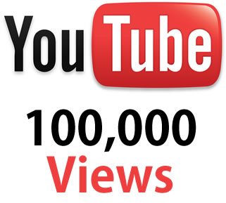 Buy Real 100,000 YouTube Views. One Hundred Thousand YouTube views