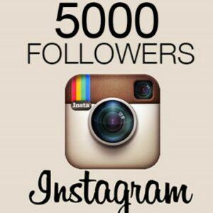 Buy 5,000 Real Instagram followers