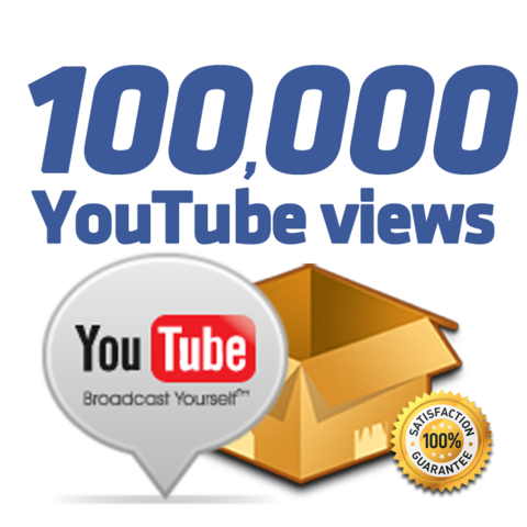 Buy Real 100,000 Youtube Views One Hundred thousand YouTube views