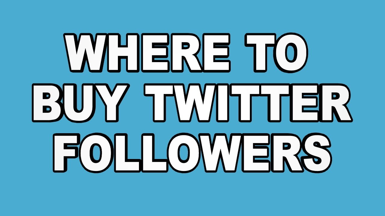 Buy Twitter Followers USA America