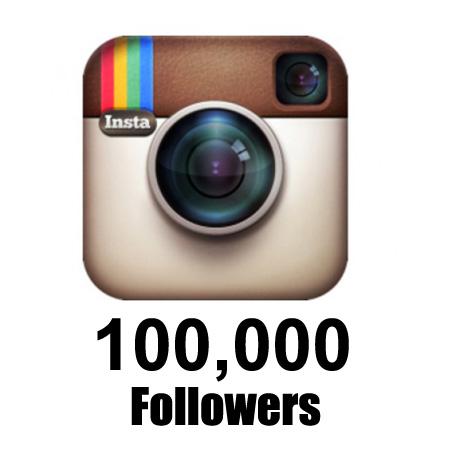 Buy 100,000 Real Instagram followers